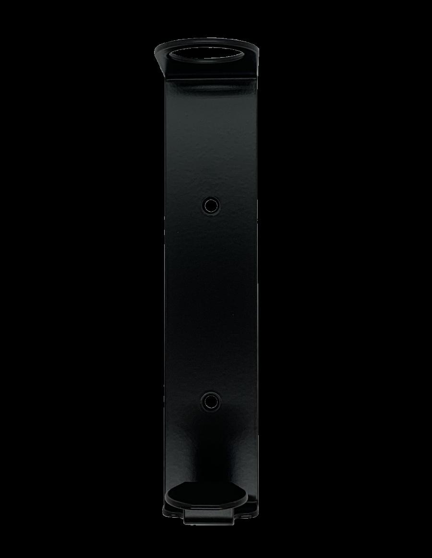 Zwarte Wandhouder voor 400 ml Pompflacon