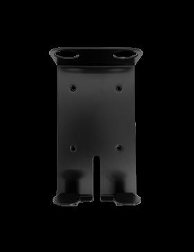 Zwarte Dubbele Wandhouder voor 400 ml Pompflacon